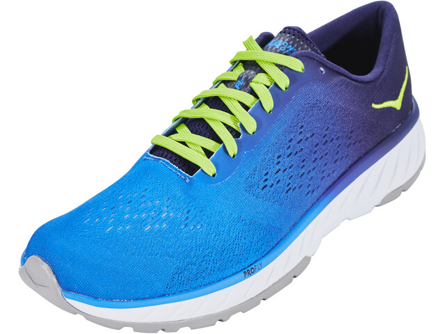 Hoka One One Cavu 2 Zapatillas running Hombre, french blue/lime green